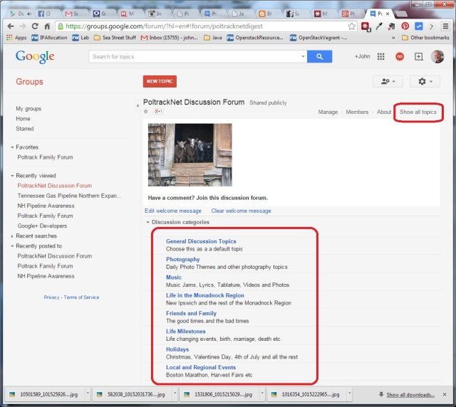 PoltrackNet screenshot