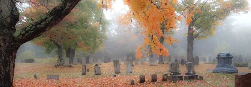 Cemetery Saturday : Autumn at SmithvilleCemetery