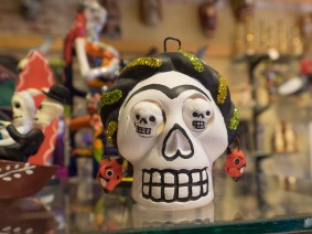 Day of the Dead (Spanish: Día de Muertos) is a Mexican holiday celebrated throughout Mexico, in particular the Central and South regions, and by people of Mexican ancestry living in other places, especially the United States. It is acknowledged internationally in many other cultures. The multi-day holiday focuses on gatherings of family and friends to pray for and remember friends and family members who have died, and help support their spiritual journey.