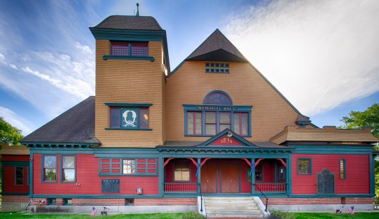 Memorial Hall - 1894 in Townsend, MA