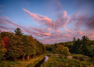 Sunset at Smithville Reservoir