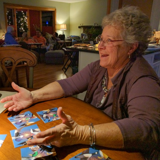 Puzzle Time at Thanksgiving