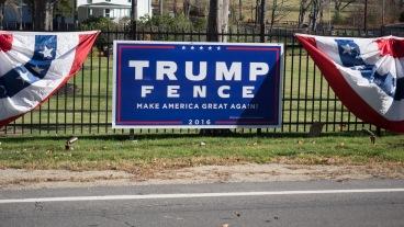 Trump Fence