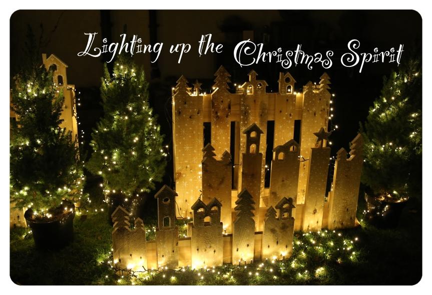 Lighting up the ChristmasSpirit